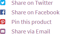 Social Share Buttons For Products